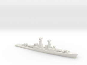 Kynda-class cruiser, 1/1250 in White Natural Versatile Plastic