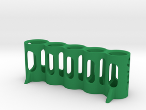 5-Tool Stand in Green Processed Versatile Plastic