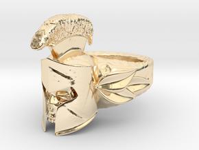 Spartan Helmet Ring in 14K Yellow Gold: 9 / 59