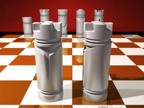 CHESS ITEM REI / KING in White Strong & Flexible