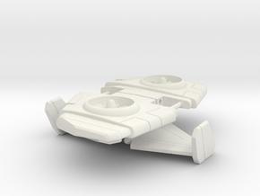 Thrust wings for Power of The Primes Starscream in White Natural Versatile Plastic
