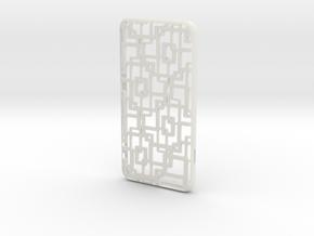 iPhone 6 plus / 6S plus Case_Connection in White Premium Versatile Plastic