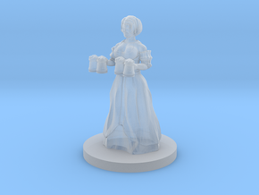 Barmaid in Smooth Fine Detail Plastic