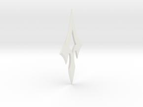 ARROW - Prometheus Throwing Star in White Natural Versatile Plastic