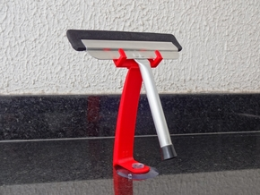 Kitchen Squeegee Holder in Red Strong & Flexible Polished