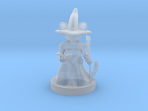 Mousefolk Mage in Smooth Fine Detail Plastic