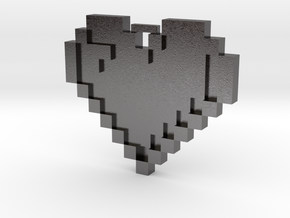 Love and Pixels in Polished Nickel Steel