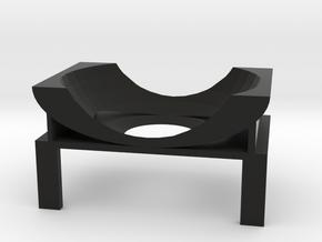 Cam Mount in Black Natural Versatile Plastic