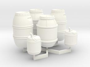 1:43 DEAGO FALCON YT1300 ANH CARGO BARREL+JER TA.1 in White Processed Versatile Plastic