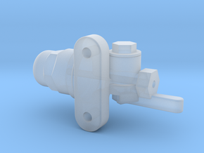 H21A Retaining Valve in Smooth Fine Detail Plastic
