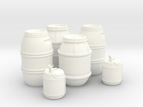 1:43 DEAGO FALCON YT1300 ANH CARGO BARREL+JER TA.2 in White Processed Versatile Plastic
