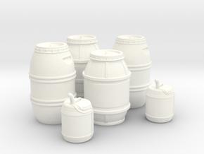 1:43 DEAGO FALCON YT1300 ANH CARGO BARREL+JER TC.2 in White Processed Versatile Plastic