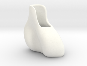 small vase  in White Processed Versatile Plastic