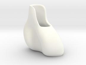 small vase  in White Processed Versatile Plastic