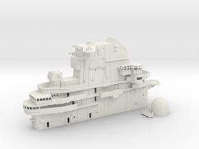 1/144 USS Hornet CVS-12 Island, 1967-1969 in White Natural Versatile Plastic