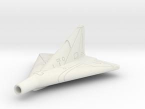 (1:144) Lippisch Li P.13a in White Natural Versatile Plastic