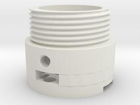 MR DM Led holder screw in White Natural Versatile Plastic