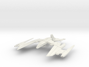 Romulan Nighteagle Class refit WarBird in White Natural Versatile Plastic