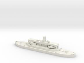 HMAS Cerberus 1/2000 in White Natural Versatile Plastic