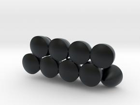 Solids Of Constant Width (1cm) in Black Hi-Def Acrylate: 1:16