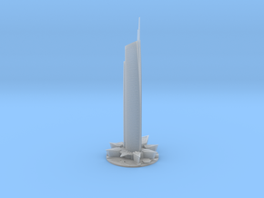 Almas Tower (1:2000) in Smooth Fine Detail Plastic
