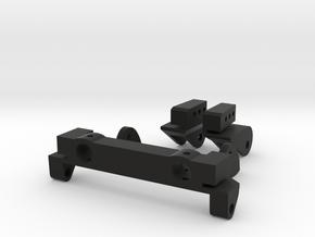 SCX10 Rear Leaf Spring Combo in Black Natural Versatile Plastic