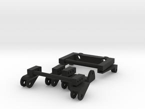 SCX10 Adjustable Rear Leaf Spring Comb V2 in Black Natural Versatile Plastic