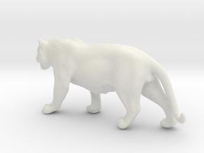 Tiger 1/87 in White Natural Versatile Plastic