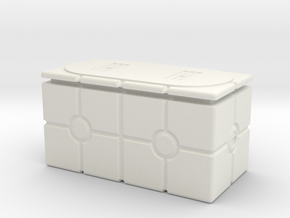 Imperial Crate 3 (2 Parts) in White Strong & Flexible