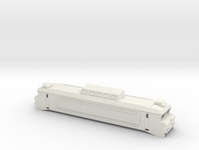 BB 1800 Scale TT in White Natural Versatile Plastic