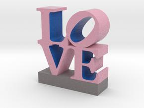 Love-033018-PinkBlueGray shell 0.5 in Full Color Sandstone