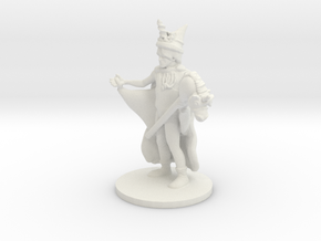 Unicorn Wizard (medium human) in White Natural Versatile Plastic