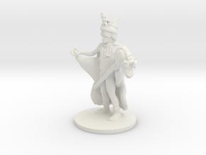 Unicorn Wizard (medium human) in White Natural Versatile Plastic