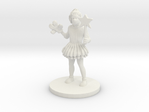 Princess Punch (medium human) in White Natural Versatile Plastic