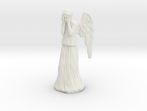 Some Call Me a Weeping Angel.. in White Natural Versatile Plastic