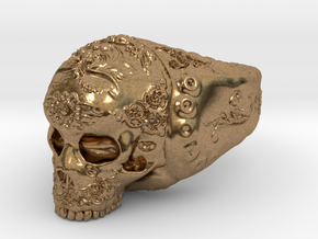 Skull in Natural Brass: 5 / 49