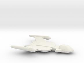 3788 Scale Romulan Shrike+ Light Dreadnought MGL in White Natural Versatile Plastic