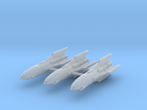 IPF Goshawk Interceptor Rocket Wing in Smoothest Fine Detail Plastic