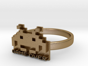 Game Over  in Polished Gold Steel: 6 / 51.5