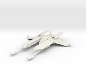 Warhawk Fighter in White Natural Versatile Plastic