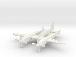 (1:144) Scaled Composites Pond Racer in White Natural Versatile Plastic