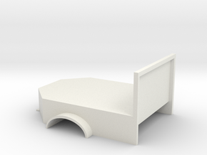 Flatbed welding base in White Natural Versatile Plastic
