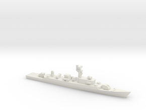 PLA[N] Type 053H2 Frigate w/ YJ-83, 1/1800 in White Natural Versatile Plastic