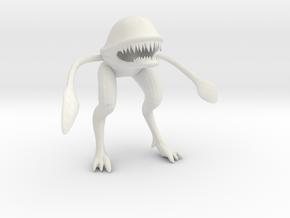 Wild Alien in White Natural Versatile Plastic