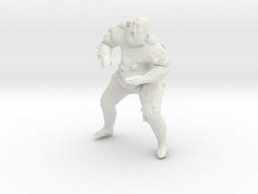 Fat Poxy Walker in White Natural Versatile Plastic
