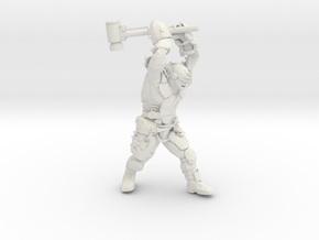 Mutant Brute with super sledge in White Natural Versatile Plastic