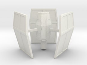 Derelict-Beacon Communication Trading Turret  in White Natural Versatile Plastic