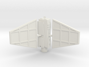 Derelict-Beacon Gravity Well Turret  in White Natural Versatile Plastic