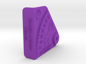 Handle-o-Meter - Body in Purple Processed Versatile Plastic