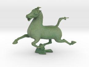 Flying Horse of Kantsu in Full Color Sandstone: Small